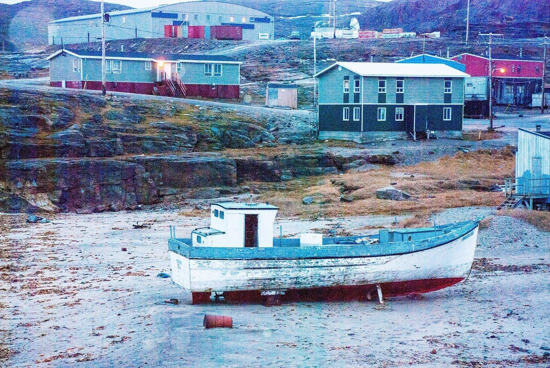 Boat-Ivujivik